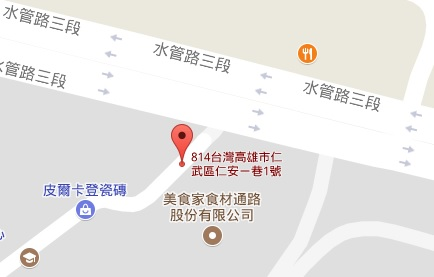 北高雄漢神巨蛋商圈_長克企業有限公司地圖