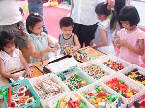 柏林兒童abs學苑,高雄,兒童全腦開發,幼兒全腦開發,學齡前教育,幼兒教具,積木課程