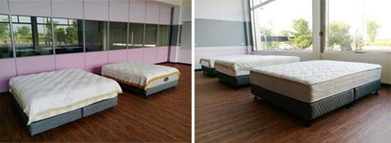 元貞堡床墊屏東展示間─提供給你高規格的舒適感受。