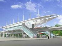 高雄漢神巨蛋電子商圈_高雄捷運R17世運站